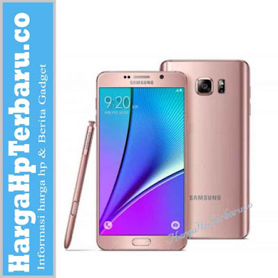 Galaxy Note 5 Contek Desain Warna Pink iPhone 6s