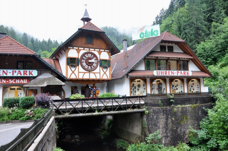 Reloj de Cuco del Eble Uhren-Park en Triberg (Selva Negra, Alemania)