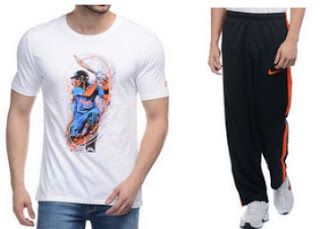 BUy Nike Men's Tshirts Flat 50% OFF