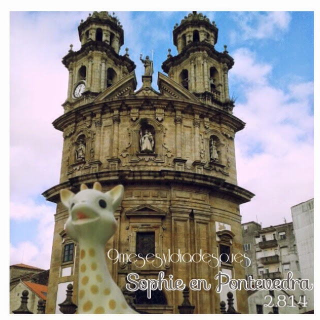 Sophie la jirafa Pontevedra