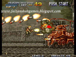 Metal slug 1 cheats