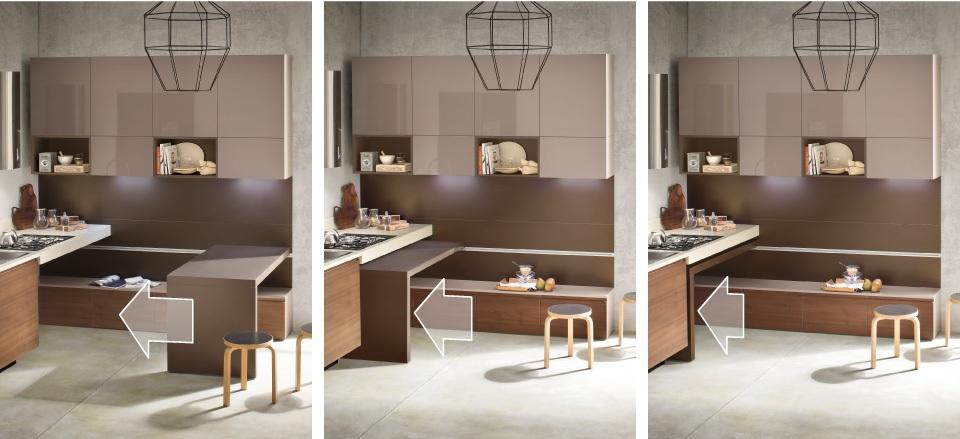 30 ideas de mesas y barras para comer en la cocina - Cocinas con ...