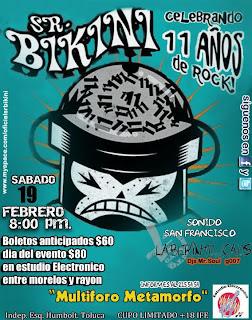 Sr. Bikini en Toluca 19 de Febrero