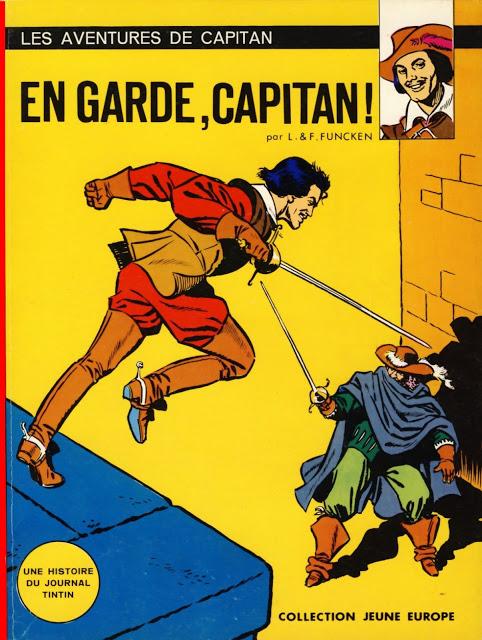 Capitan 01 - 09 Liliane & Fred Funcken ( Série complète)