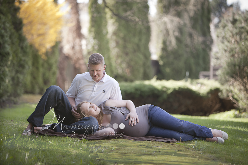 North Vancouver Maternity Photography - Couple