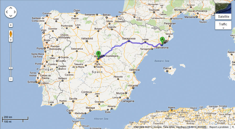 Here, There, Wherever: Barcelona to Madrid by Bus