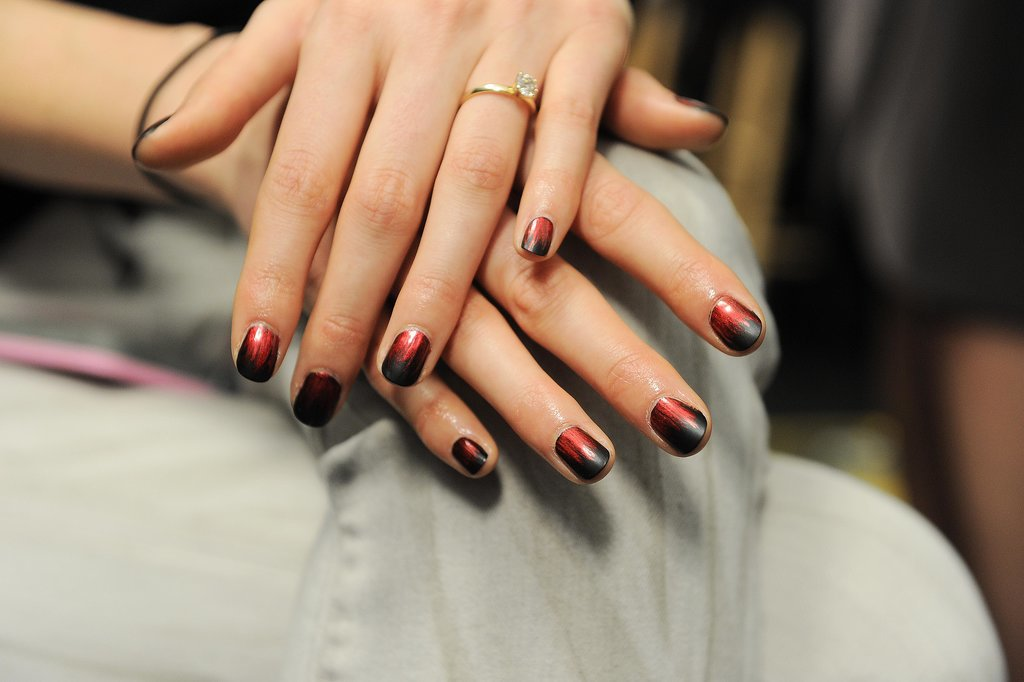 The PolishAholic: NYFW: Nicole Miller Runway Nails Recreation