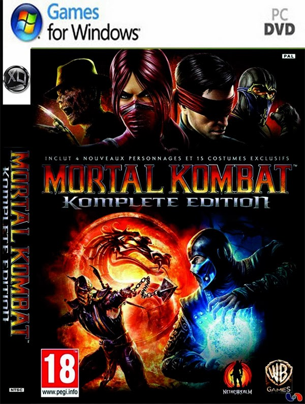 Mortal Kombat - Komplete Edition (BlackBox) Full ISO