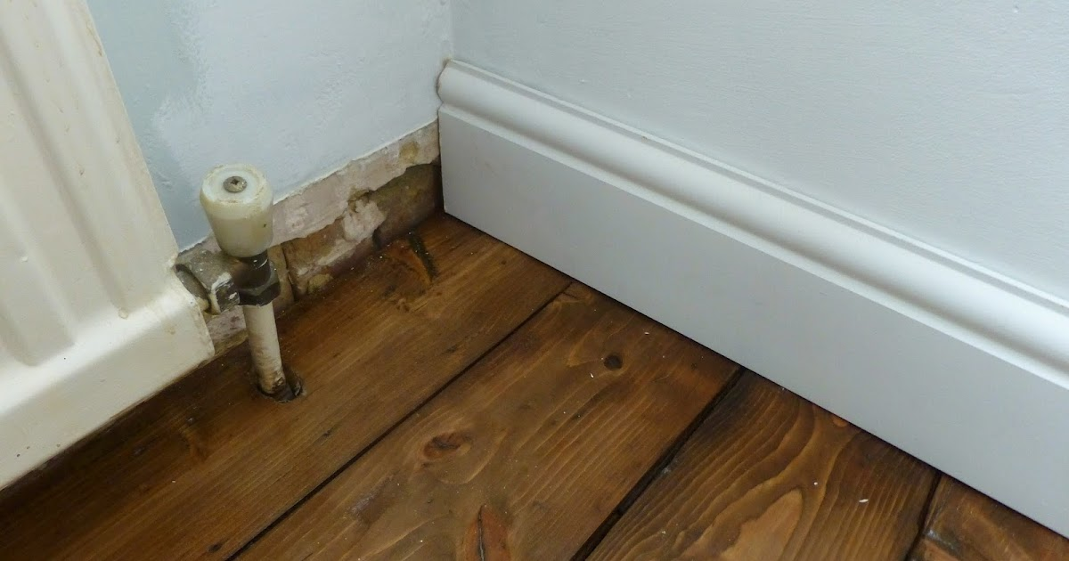 Paint And Style How To Install Skirting Boards And How