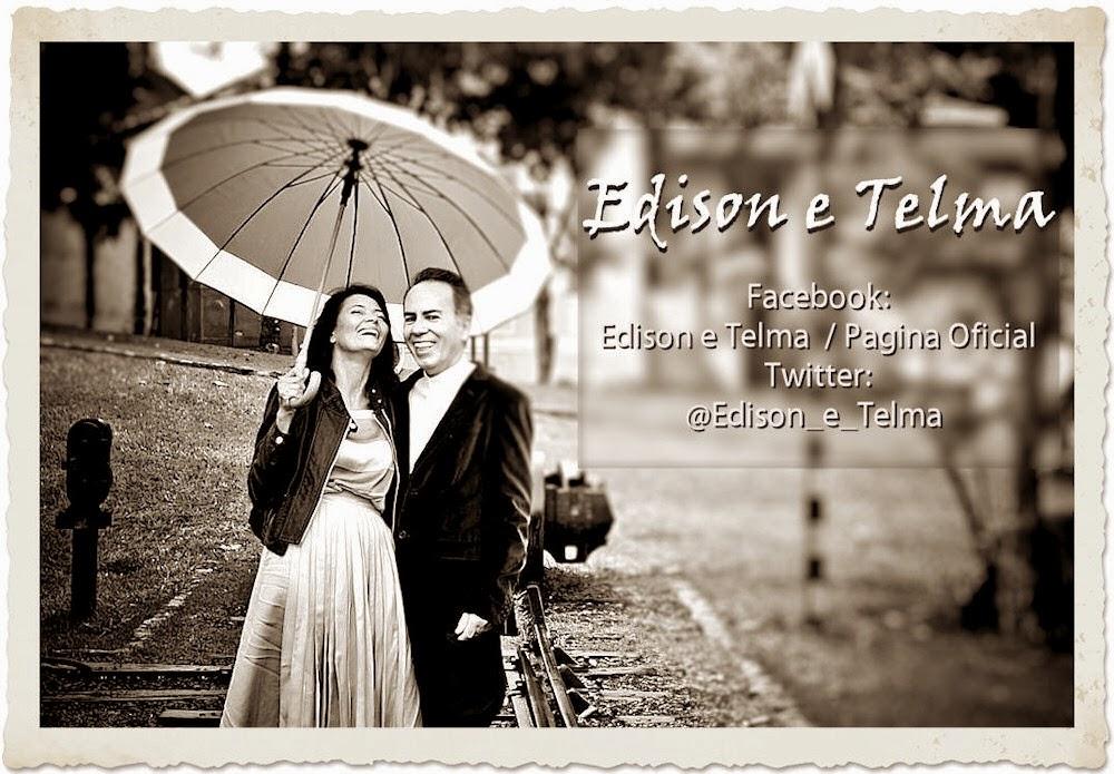 Edison e Telma no Facebook