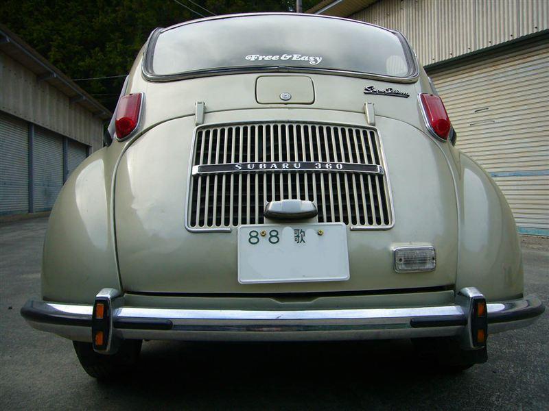 Subaru 360, stary japoński samochód, klasyk, JDM,  スバル, 日本車