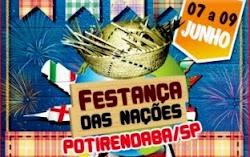 Festança das Nações de Potirendaba 2012
