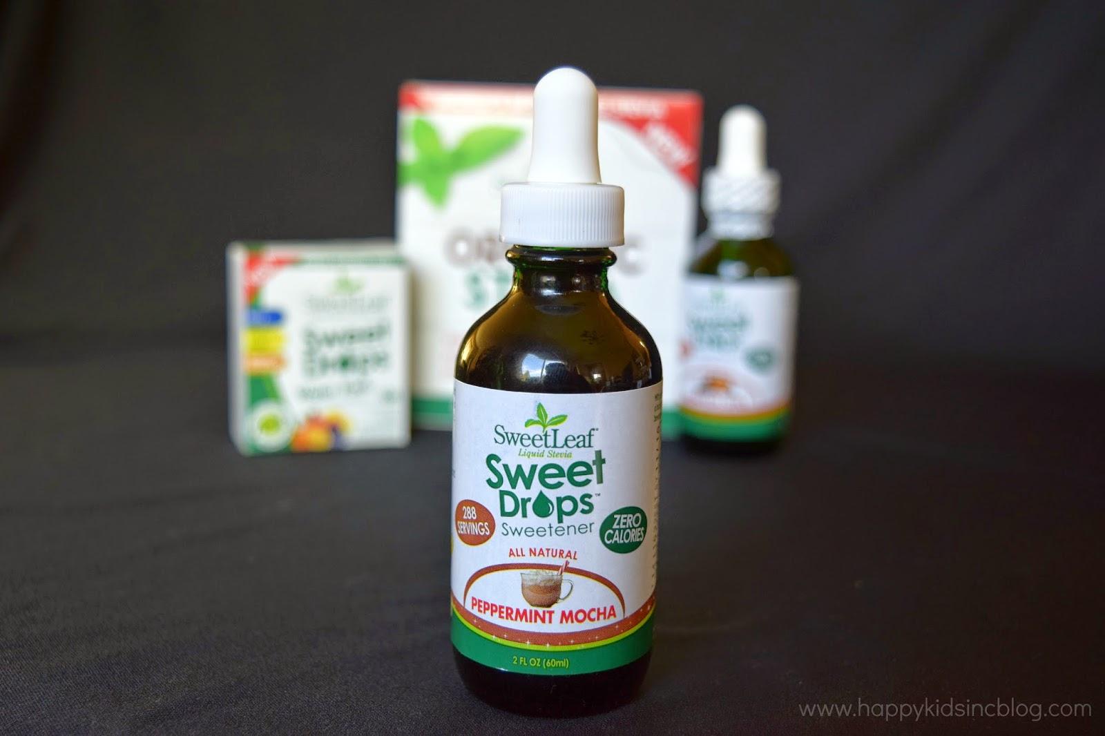 Enjoy sugar free beverages with SweetLeaf Organic Stevia Sweet Drops