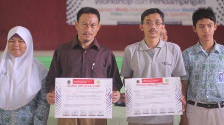 Komunikasi UMM-Ponpes Karang Asem Deklarasikan Melek Media