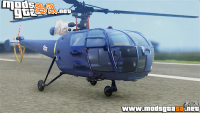 SA - Indian Navy CHETAK Heli Skin
