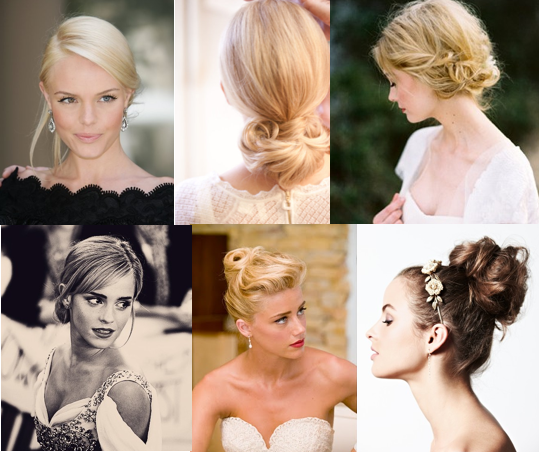 Gal Meets Glam Wedding Makeup : Wedding Hair: Up vs. Down - Gal Meets Glam