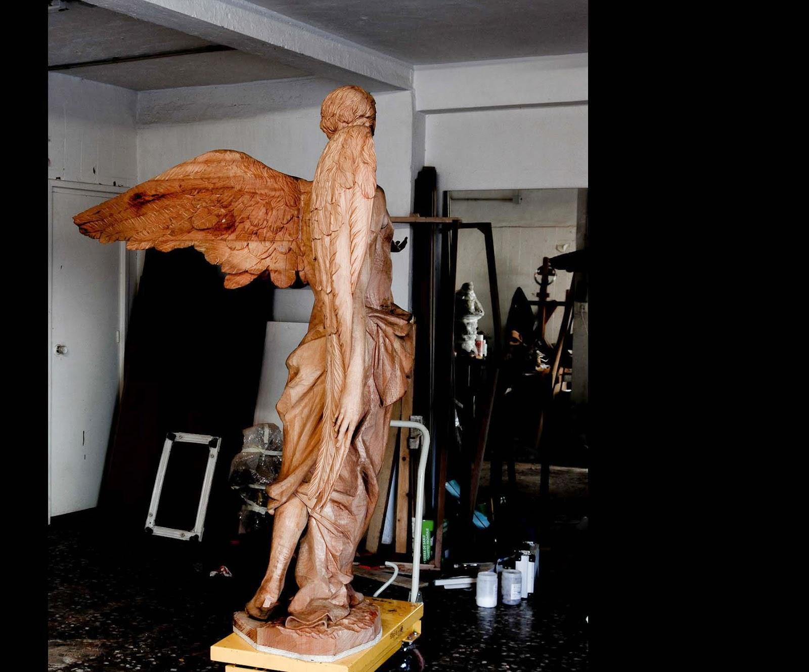 Ángel Semana Santa Tobarra escultura 20