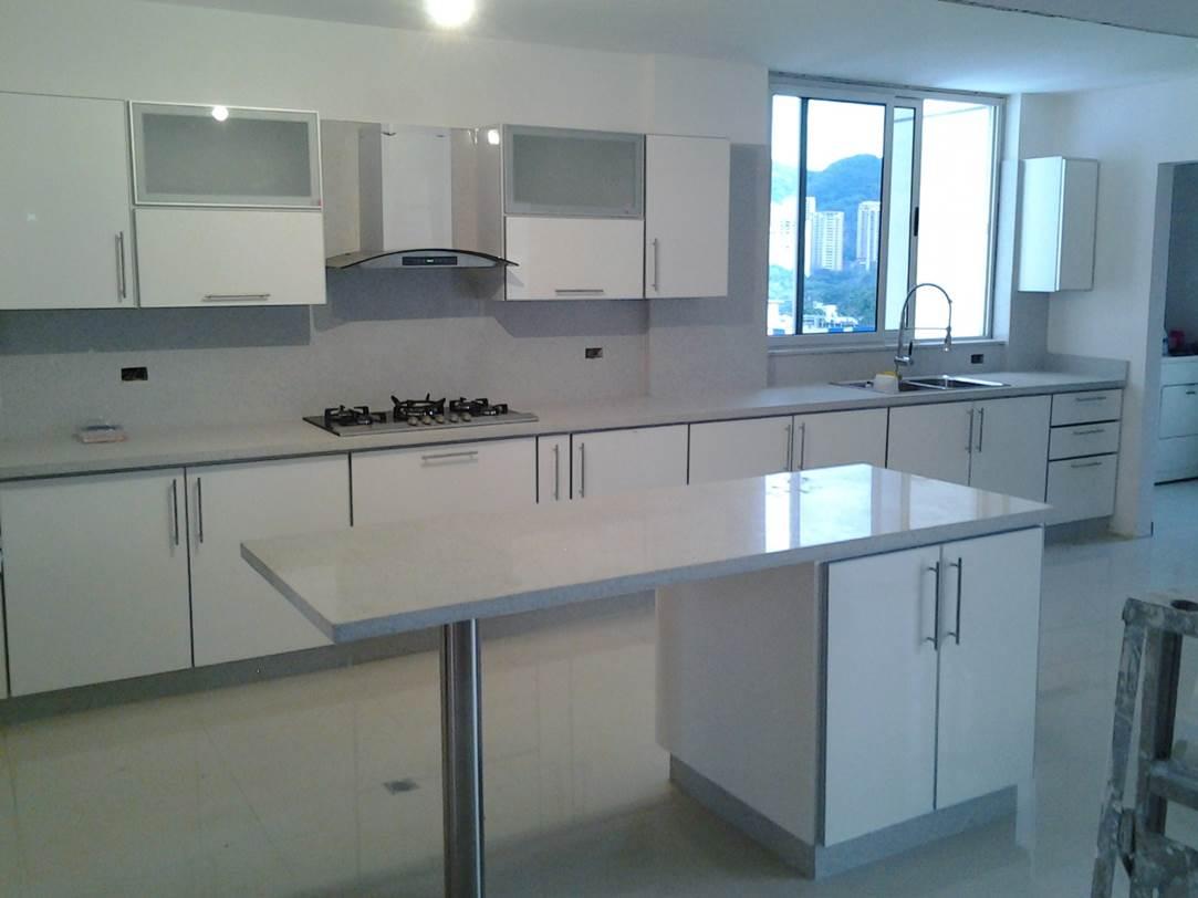 De un plano a la realidad fotos muebles modulares p p - Cocinas modulares ...