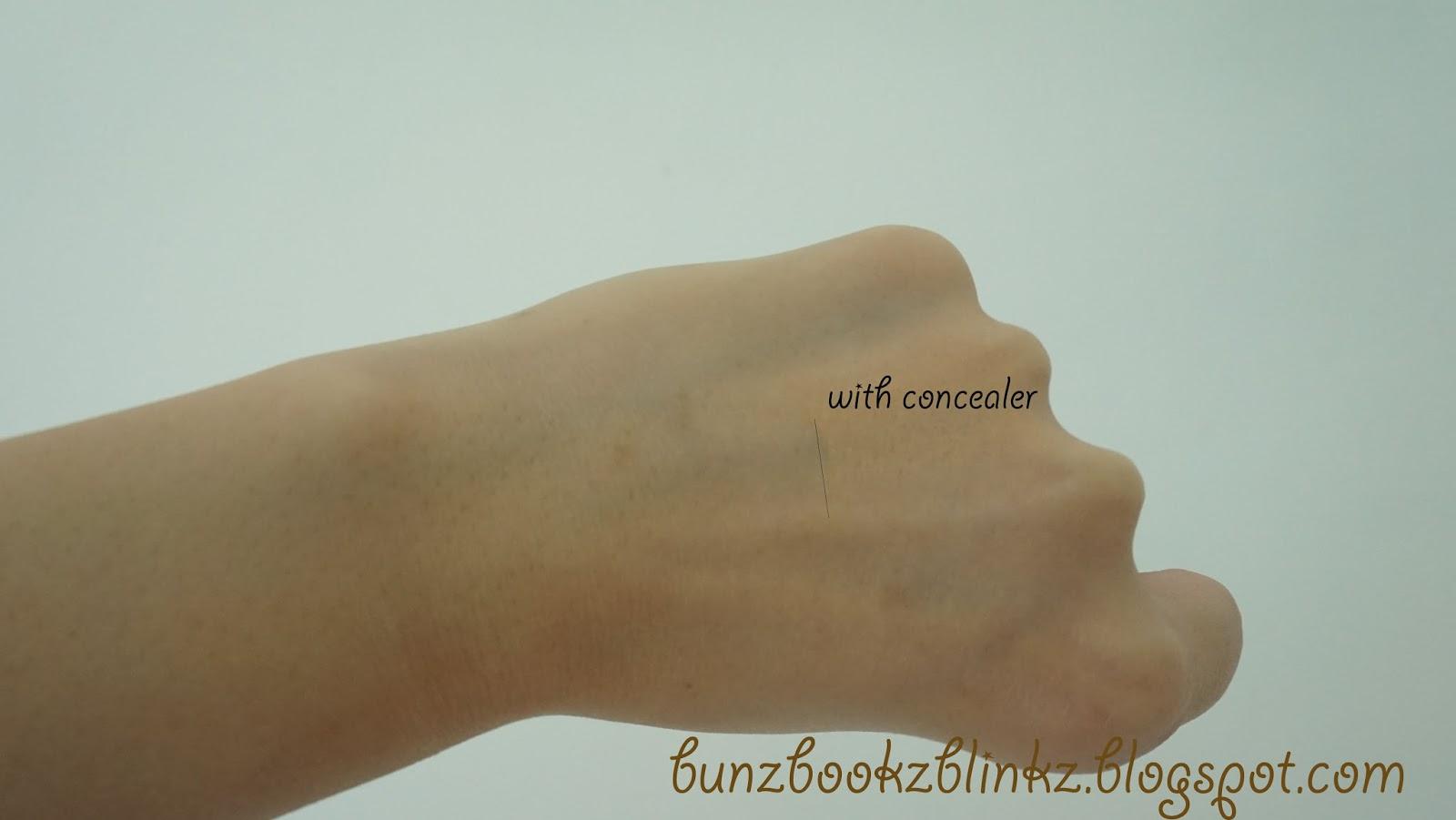 bunz bookz blinkz: Review : Revlon Photoready Concealer 003 Light ...