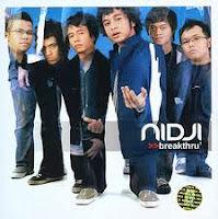 Lirik Chord Nidji | Sang mantan