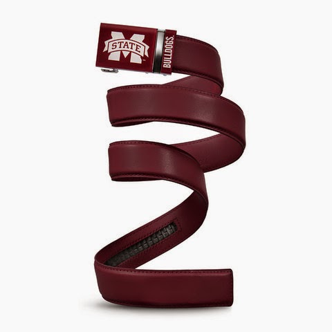 Mississippi State Bulldogs NCAA Mission Belt