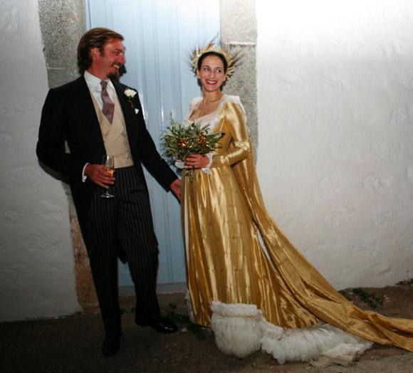 Prince Aimone Of Savoy And Princess Olga Greece