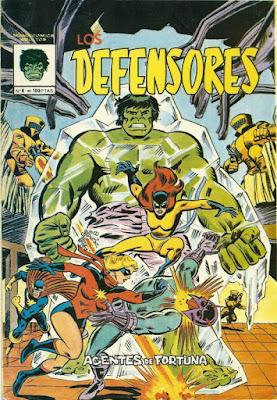 Portada de Los Defensores Mundicomics Nº 8 Ediciones Vértice
