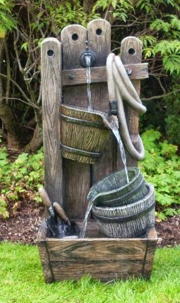 Arte y jardiner a estanques y fuentes en el jard n - Fuentes de jardin de pared ...