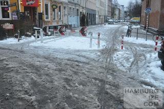 Veloroute 1 - Thadenstraße / Wohlers Allee