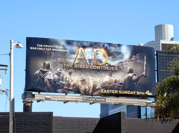 AD Bible Continues billboard