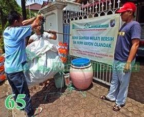 Bank Sampah Melati Bersih GM FKPPI Rayon Cilandak Pondok Labu Jakarta Selatan
