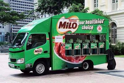 Air Milo Ais Yang Sedap