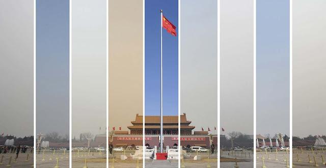 Il fotoreporter della Reuters Wei Yao ha documentato lo smog a Pechino