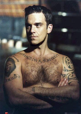 Robbie Williams tattoo design picture gallery - Robbie Williams tattoo Ideas for Men
