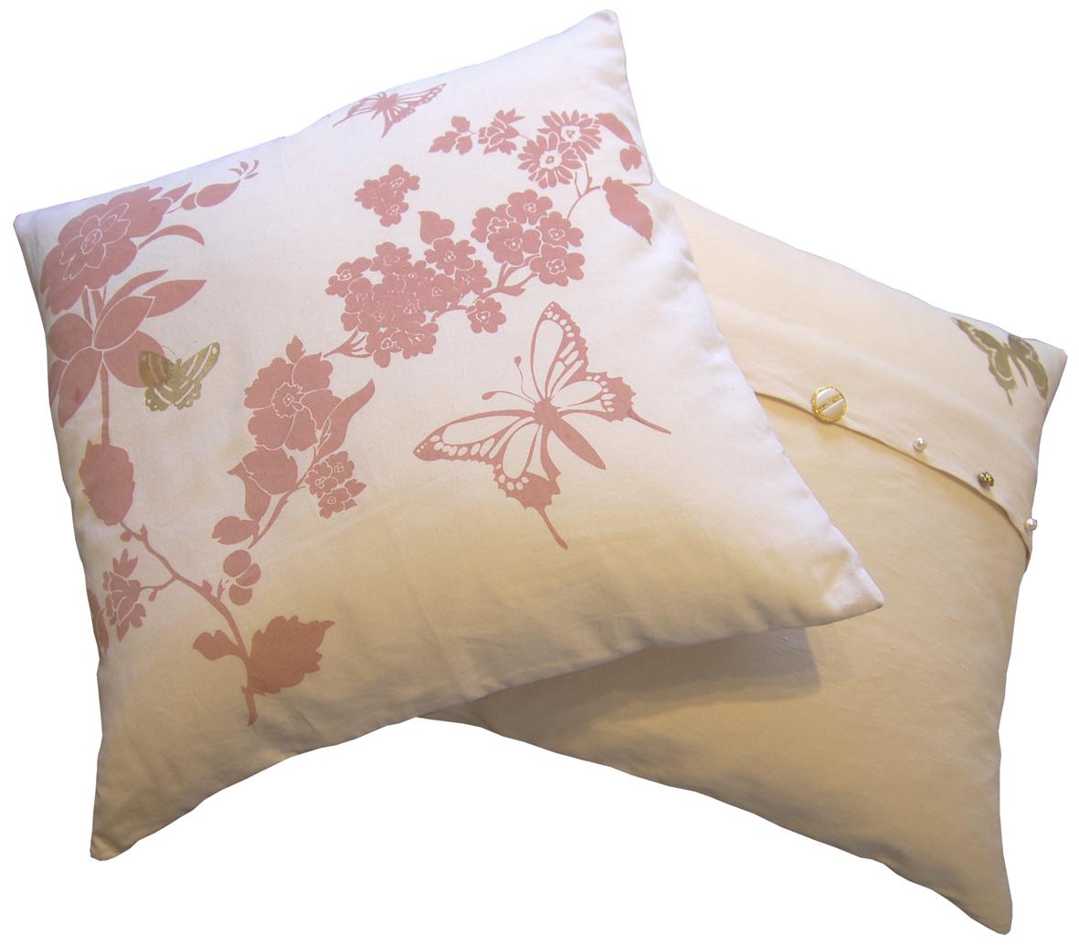 Laura Felicity Design Pretty Flower Cushion Sale All Stock Must Go