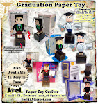 Graduation Paper Toy as Souvenir