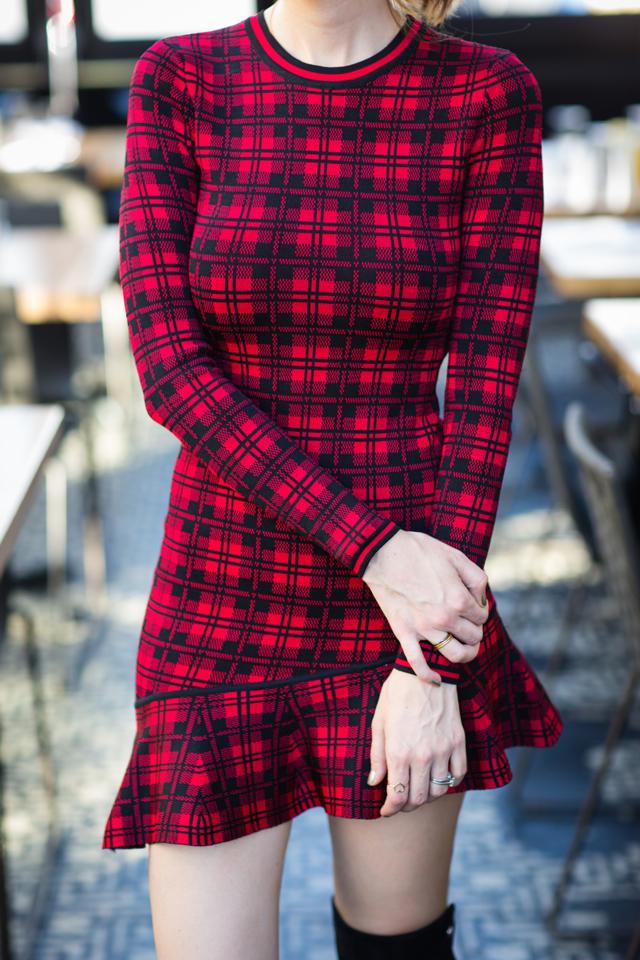 red plaid dress via M Loves M @marmar
