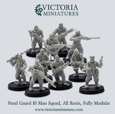 Guardia Penal de Victoria Miniatures
