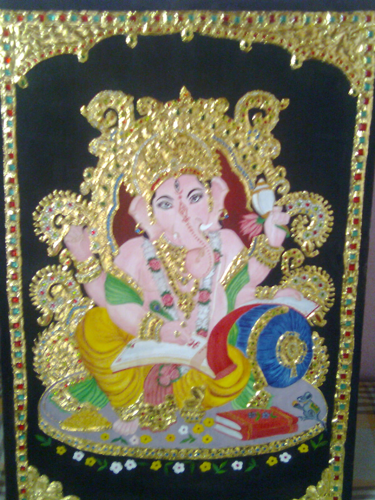 Innovative ideas tanjore painting for Innovative painting ideas