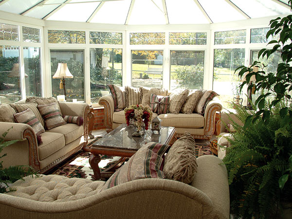 Sunroom decorating ideas dream house experience - Amazing image of sunroom interior design and decoration ...
