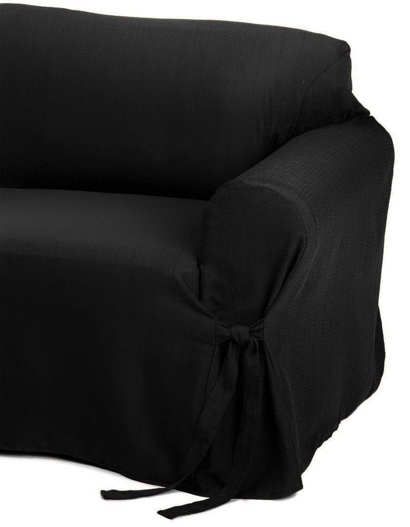 solid black couch cover soft micro suede solid black couch covers