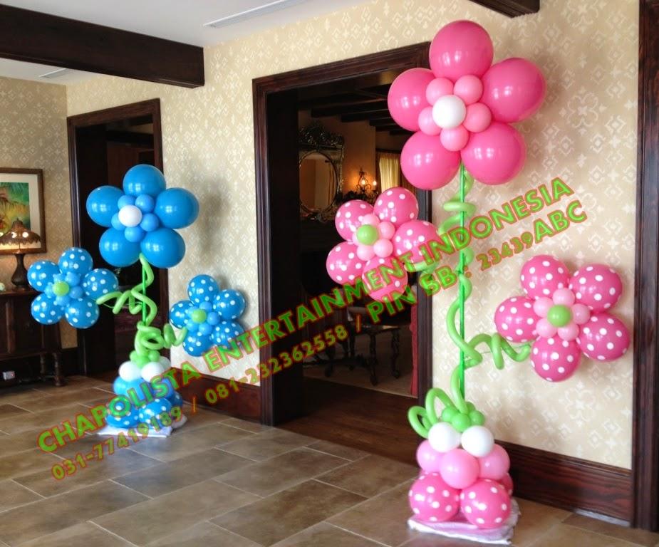 Украшение из шаров на день рождения ребенка своими руками 46