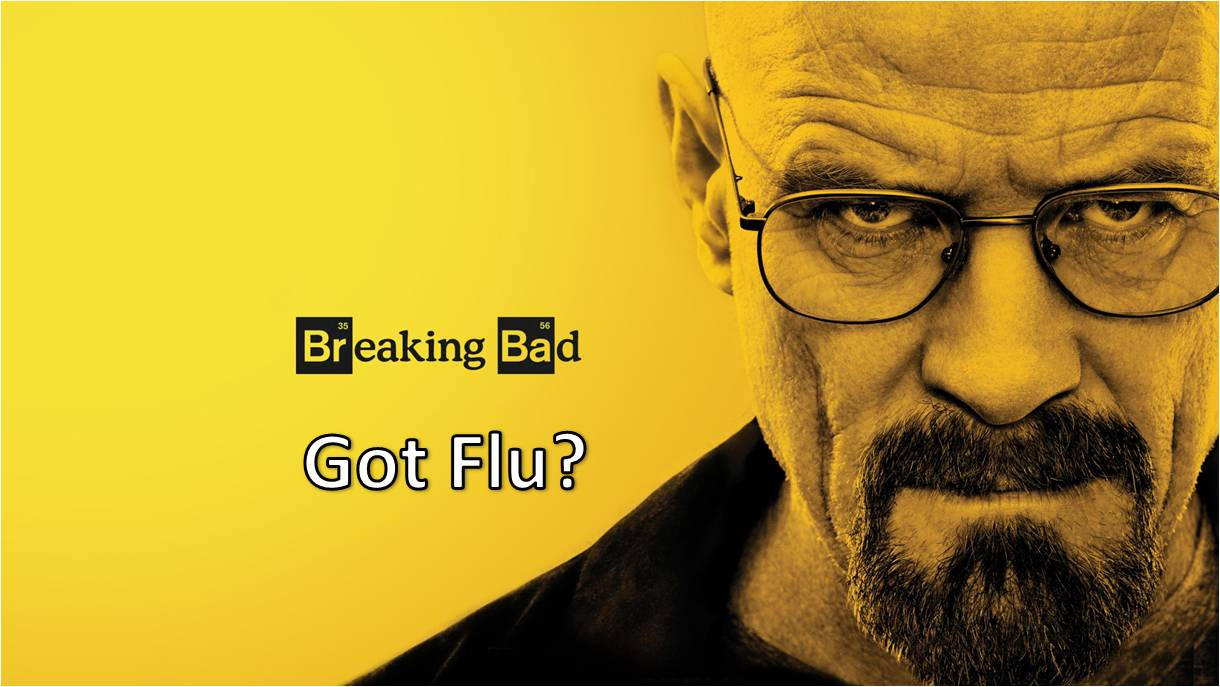 breaking bad got flu la metanfetamina reduce la replicacin del virus de la gripe a