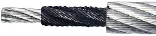 Spezial verdichtetes Stahldrahtseil mit plastifizierter Stahlseele