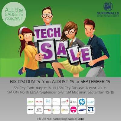 BDO SM Cyberzone TECHSALE, SM malls
