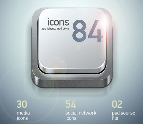 App Keyboard Icons