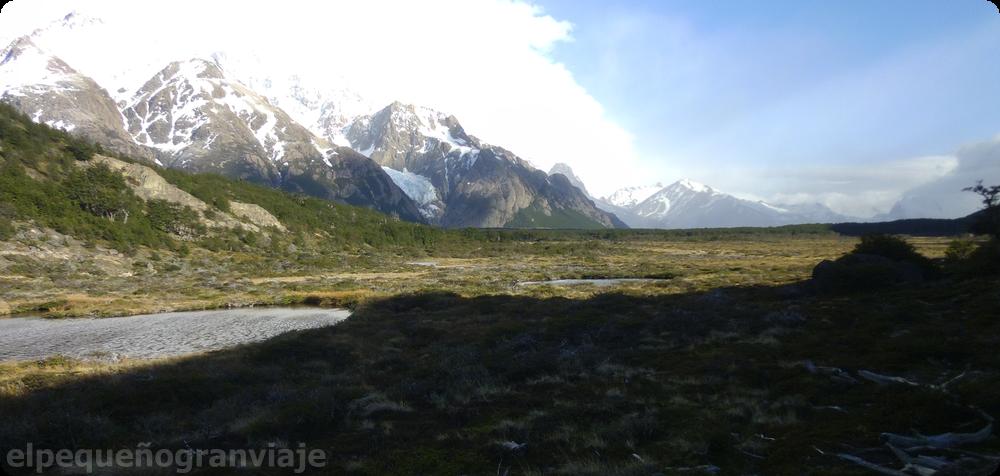 Mallines, El Chaltén, Glaciar Piedras Blancas