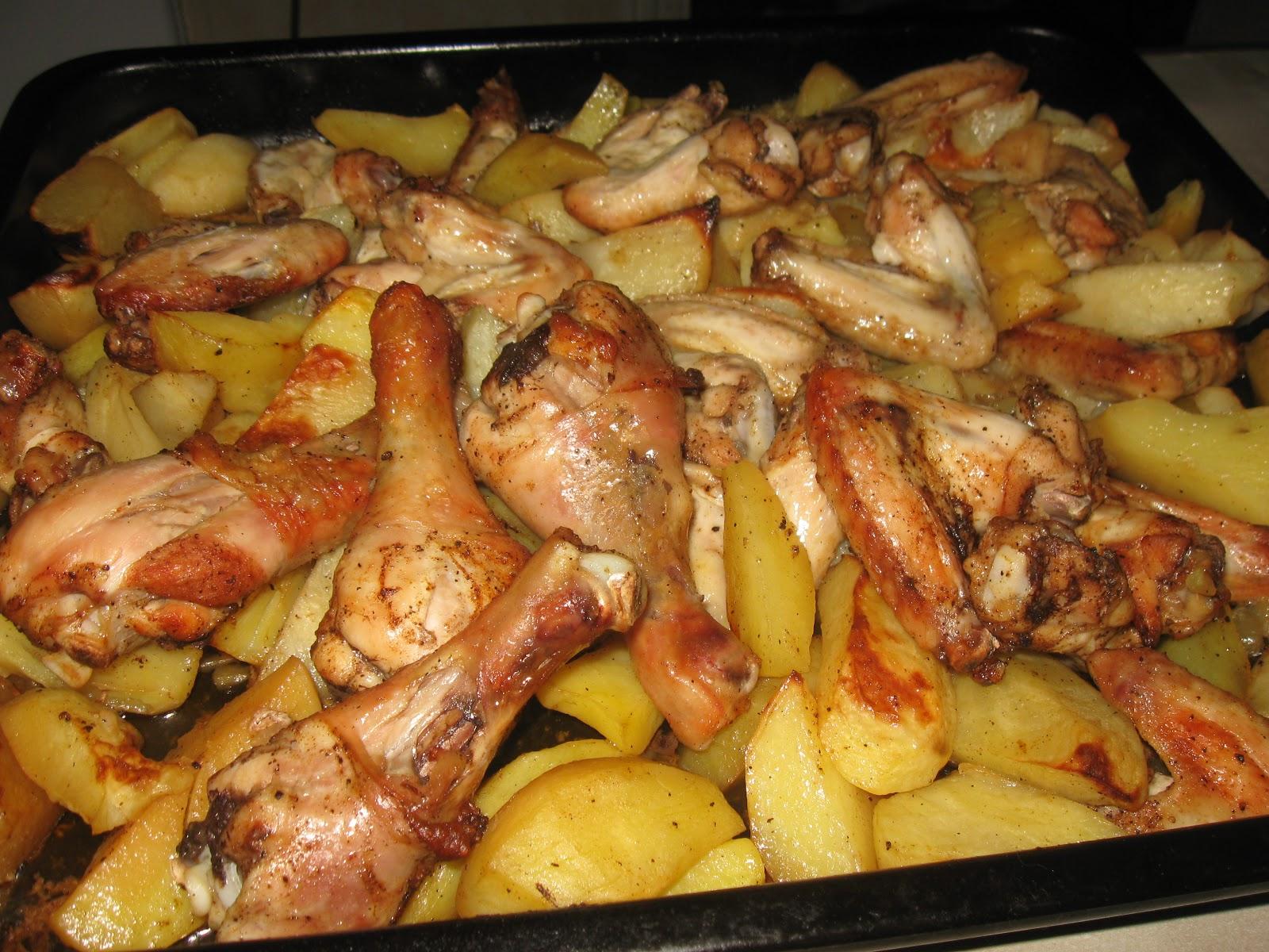 Картошка с мясом в протвине в духовке рецепт