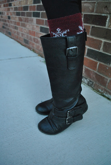 Flashback Summer: Hint o' Vintage,  boots