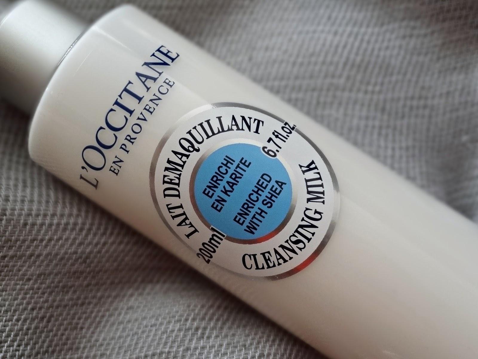 L'Occitane Shea Butter Cleansing Milk